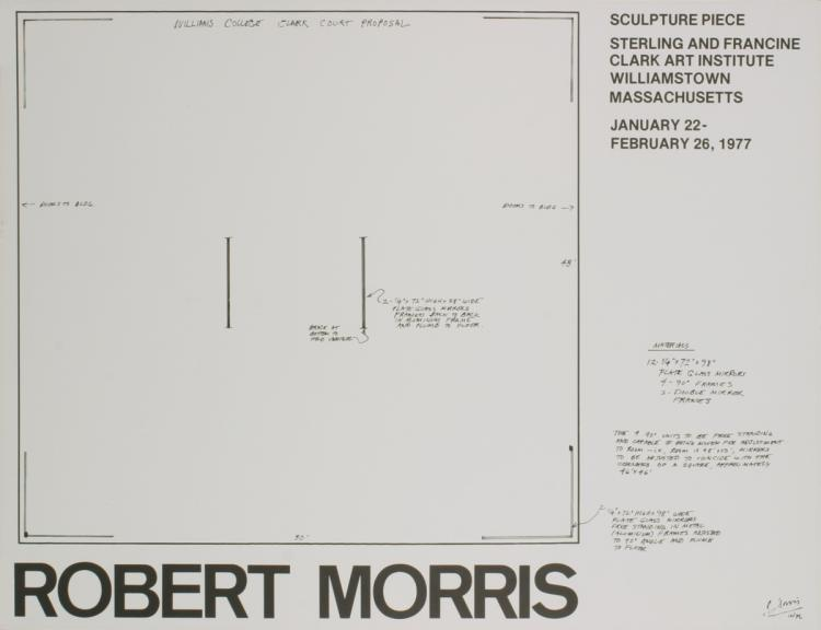 Robert Morris - Williams College Clark Court Proposal - 1977