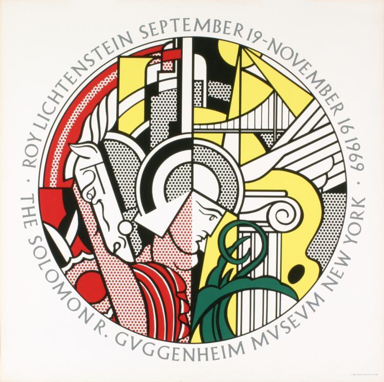 Roy Lichtenstein - Guggenheim Museum - 1969