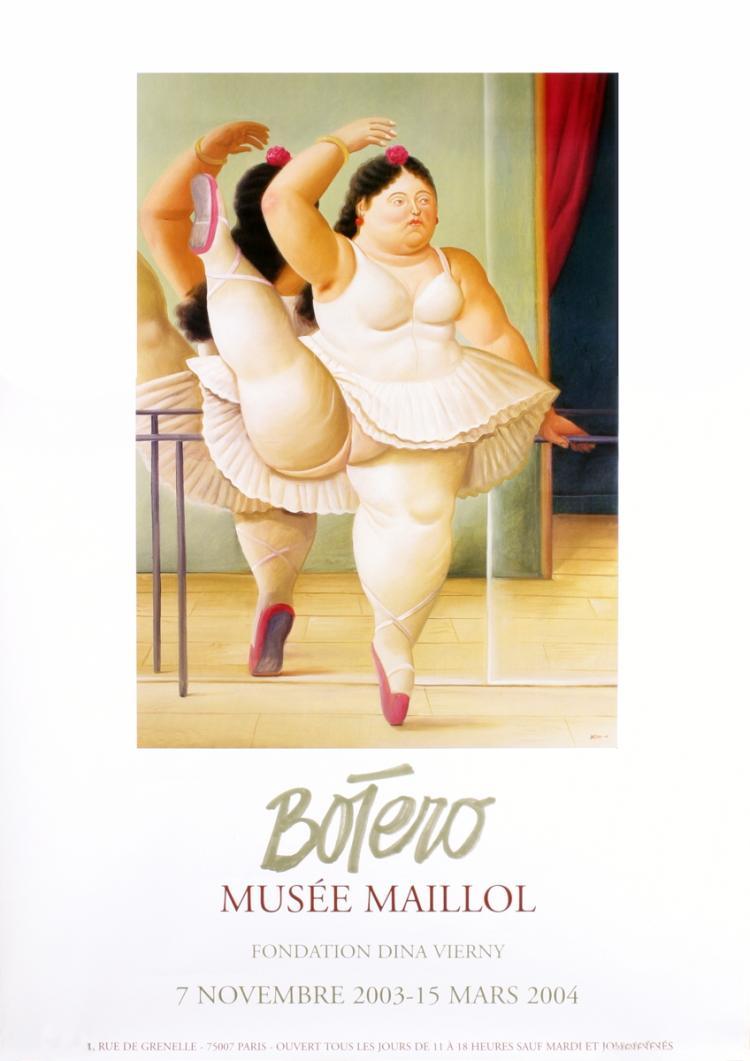 Fernando Botero - La Ballerina (Billboard) - 2004