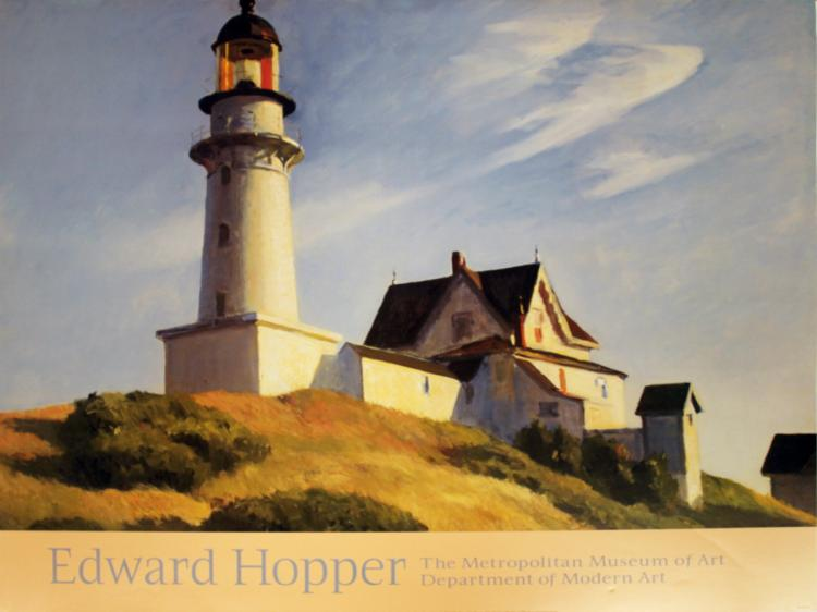 Edward Hopper - The Lighthouse at Two Lights - 2000