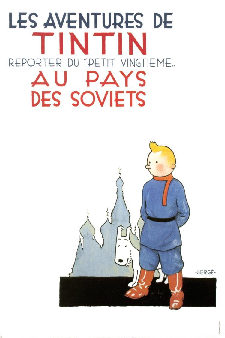 Herge - Les Aventures de Tintin: Reporter du Petit Vingtieme Au Pays Des Soviets