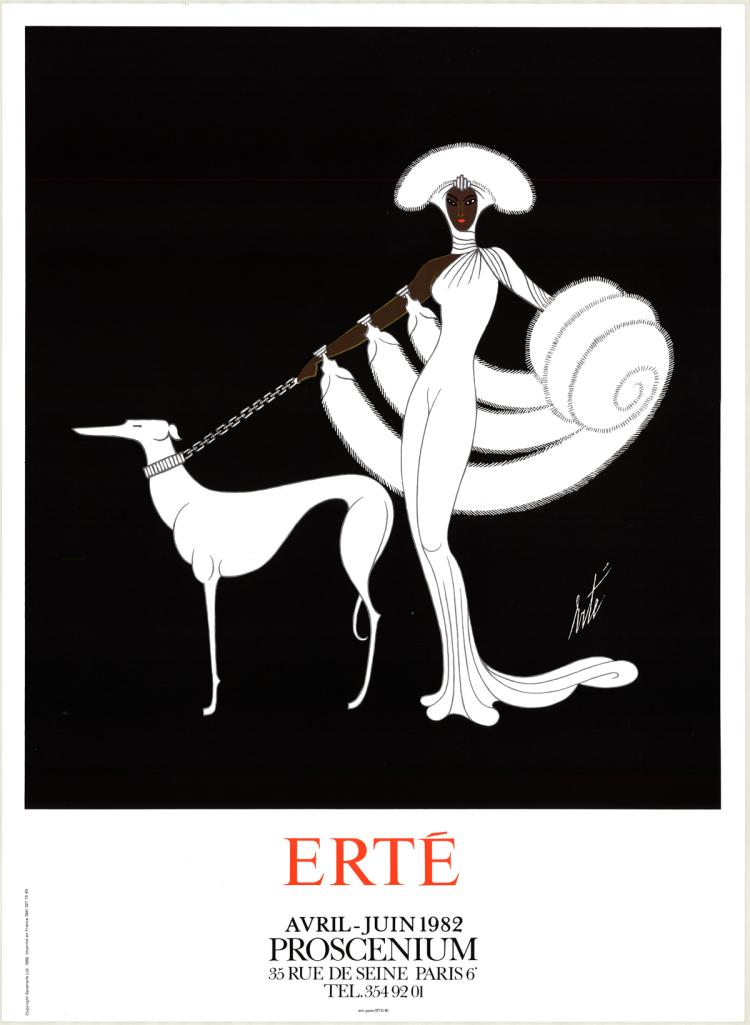 Erte - Symphony in White (Proscenium) - 1982