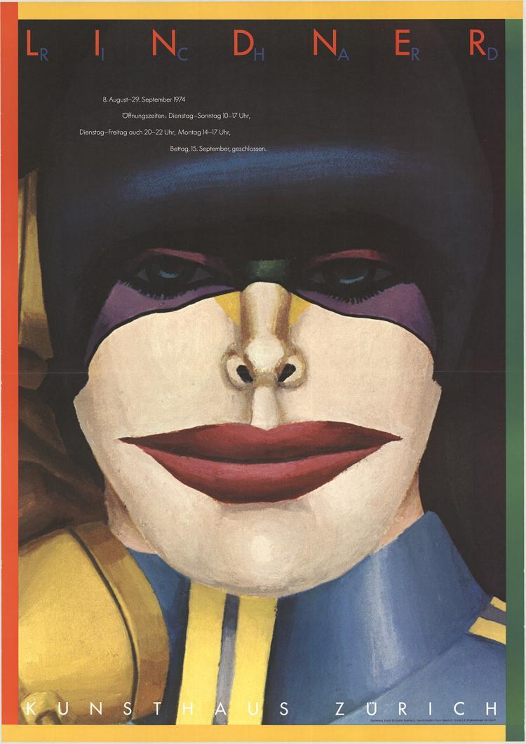 Richard Lindner - Kunsthaus Zurich - 1974