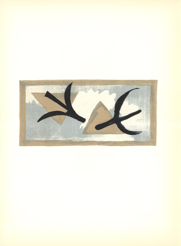 Georges Braque - En Vol - 1959