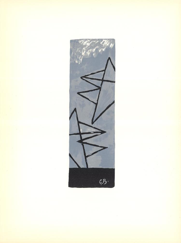 Georges Braque - Ciel Gris - 1959