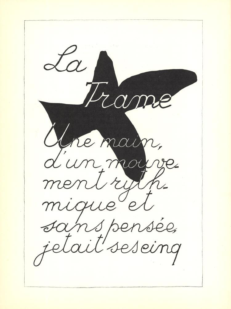 Georges Braque - La Liberte des Mers - 1960