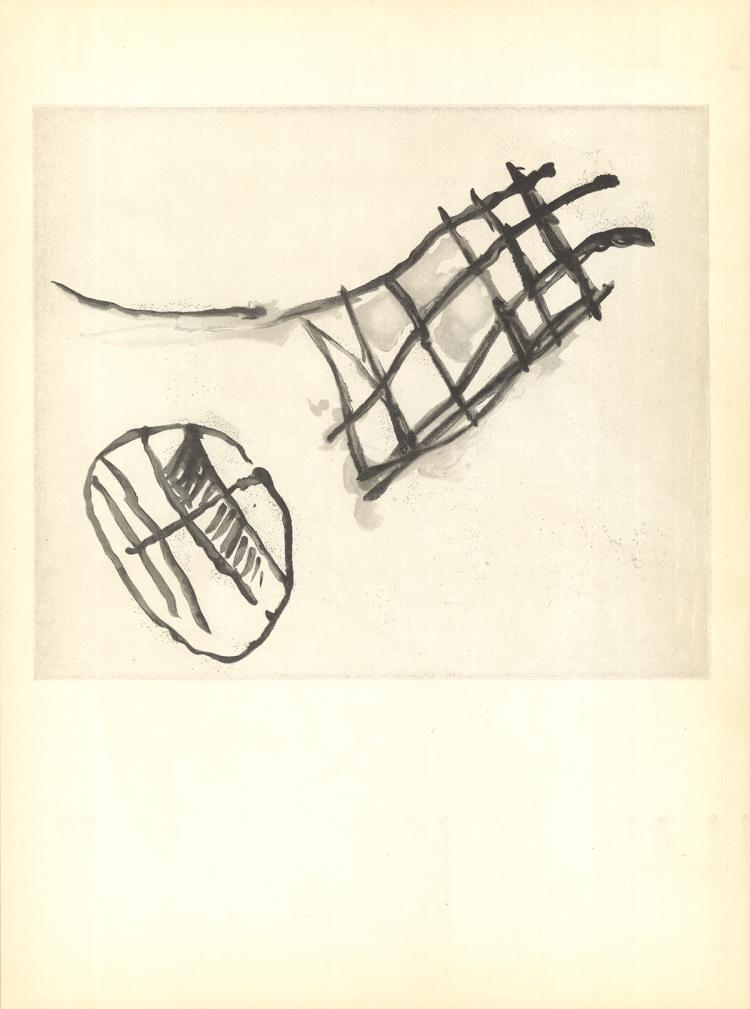 Pierre Tal-Coat - Du Cote de Cevennes - 1960