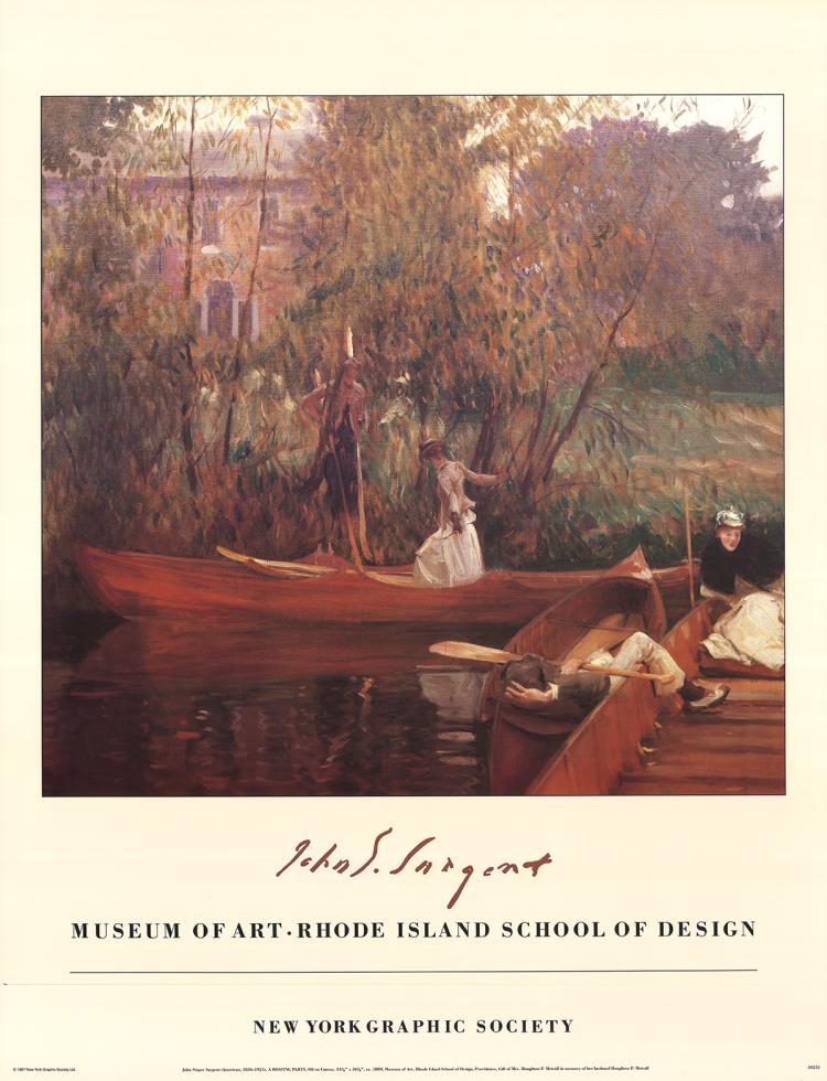 John Singer Sargent - A Boating Party - 1987