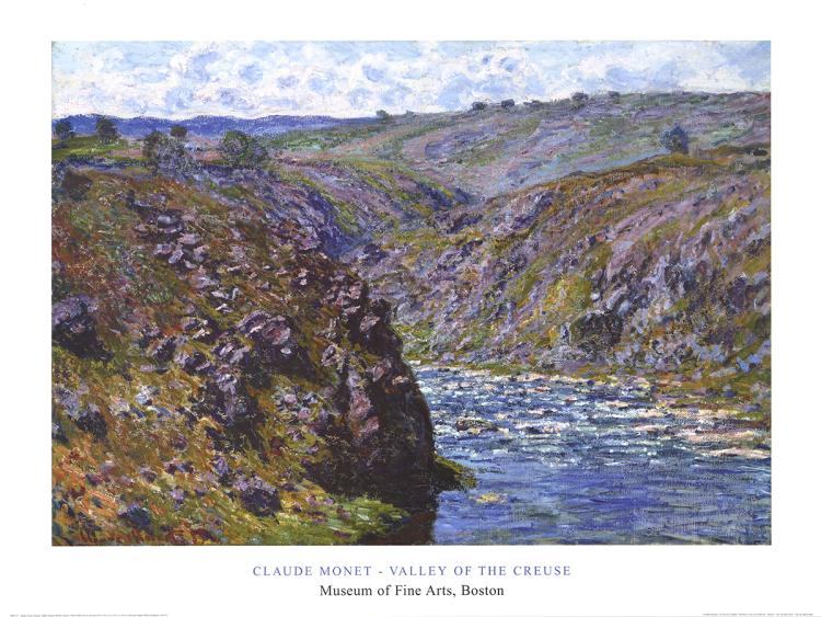 Claude Monet - Valley of the Creuse - 1998