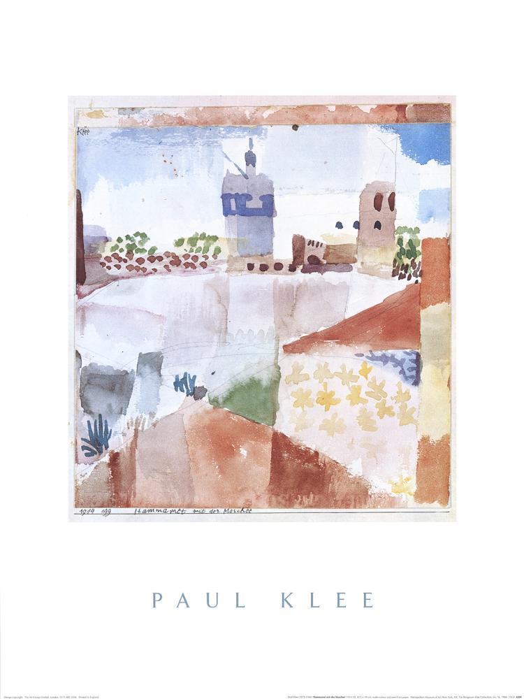 Paul Klee - Hammamet with the Mosque - 1984