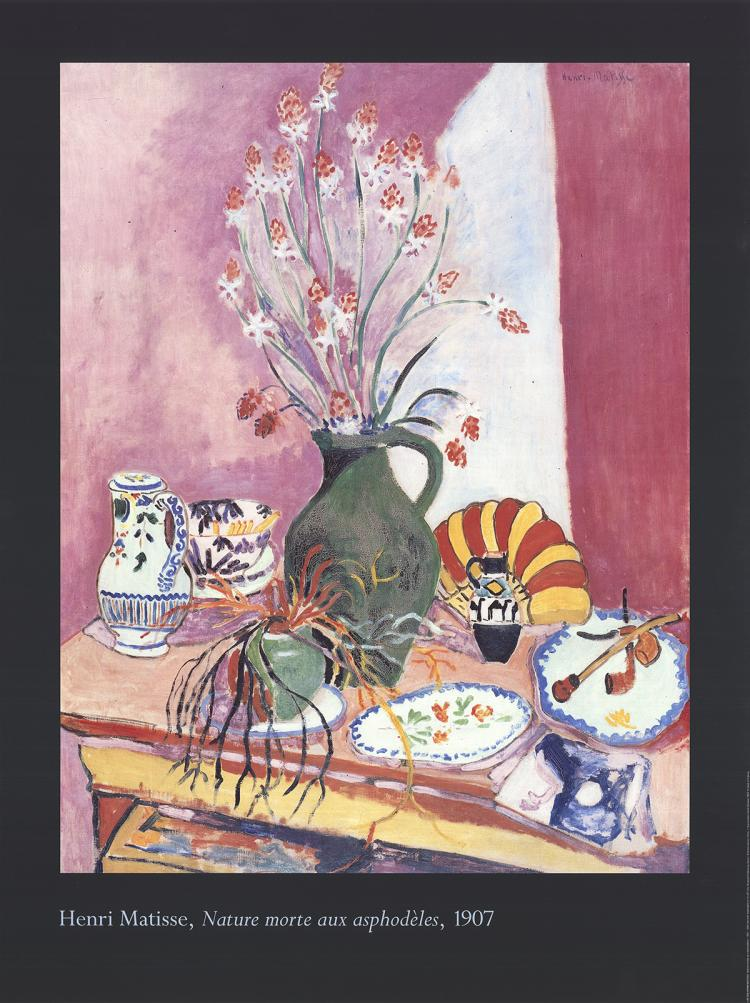 Henri Matisse - Still life with Asphodels - 1994