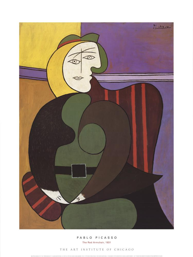 Pablo Picasso - The Red Armchair - 1999