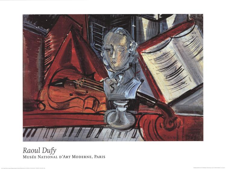 Raoul Dufy - Homage to Mozart - 1993