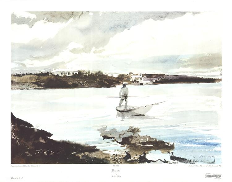 Andrew Wyeth - Bermuda - 1974
