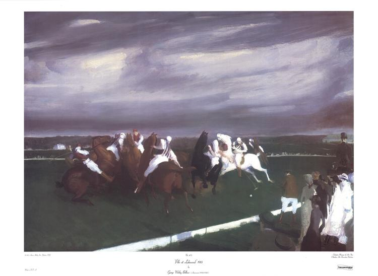 George Bellows - Polo at Lakewood - 1983