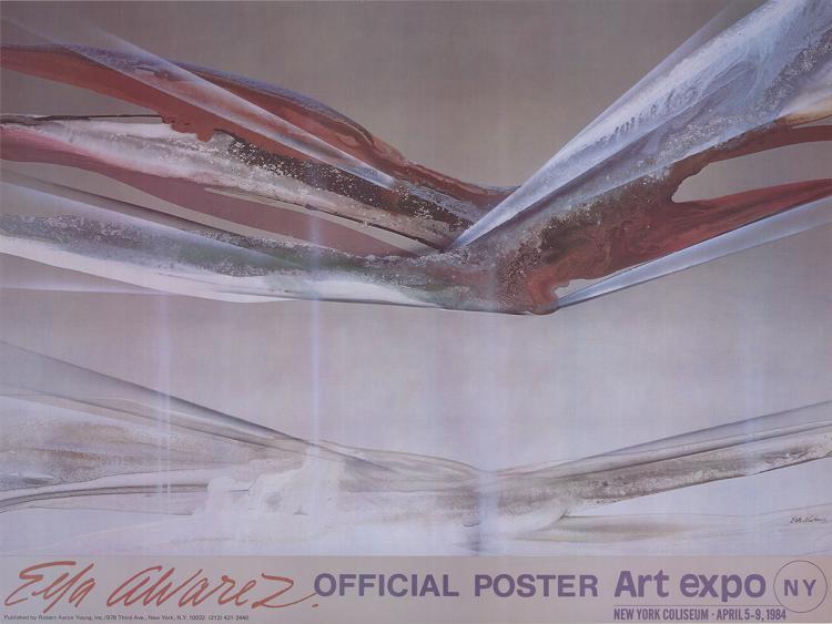 Elba Alvarez - NY Art Expo - 1984