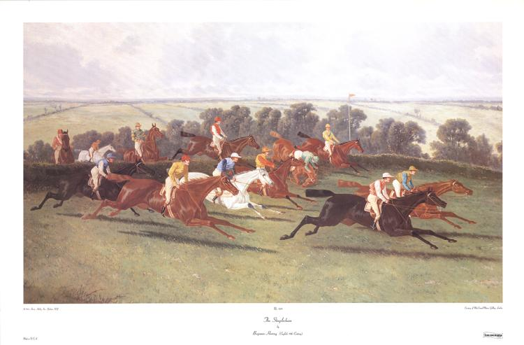 Benjamin Herring - The Steeplechase - 1985