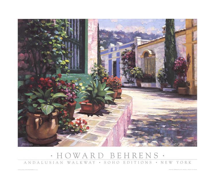 Howard Behrens - Andalusian Walkway - 1995