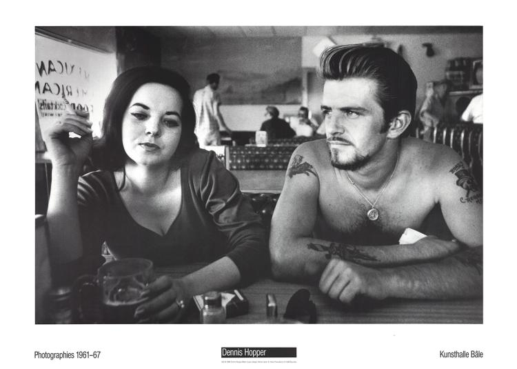 Dennis Hopper - Biker Couple - 1988