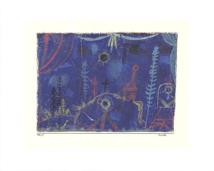 Paul Klee - Einsiedelei - 2016