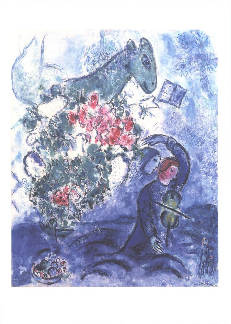 Marc Chagall - Violinist - 2016