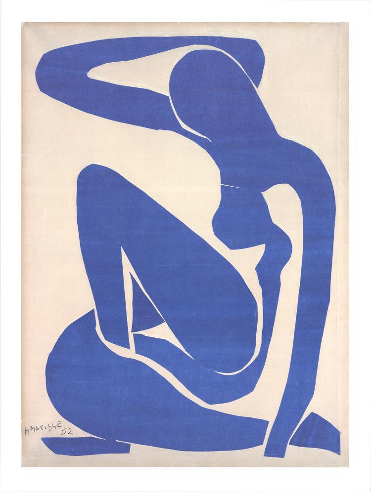 Henri Matisse - Blue Nude I - 2016