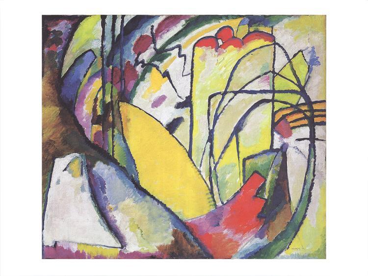 Wassily Kandinsky - Improvisation 10