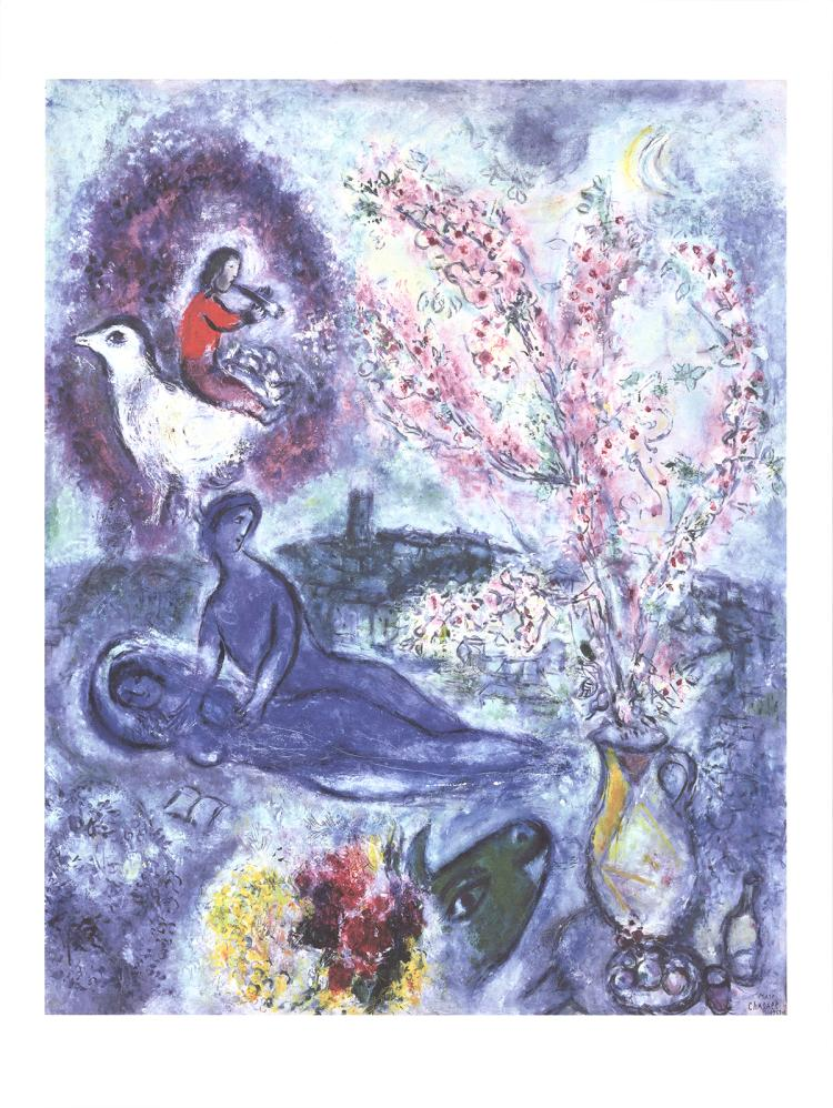 Marc Chagall - Les Amandiers - 2016