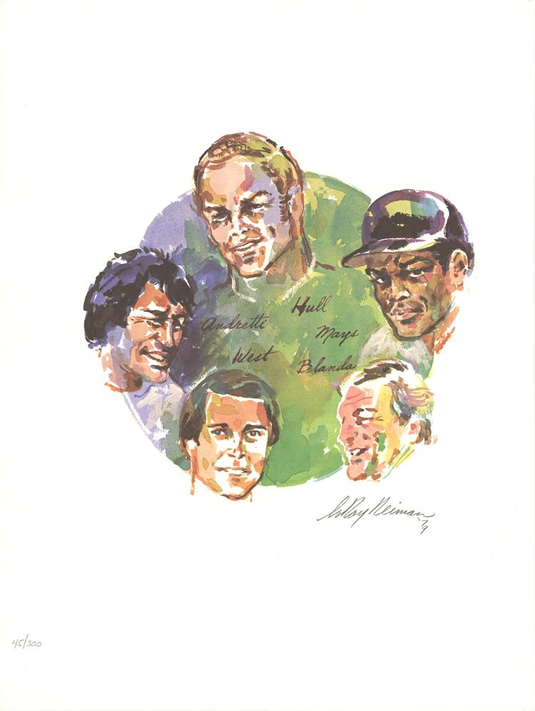 Leroy Neiman - Sports Legends