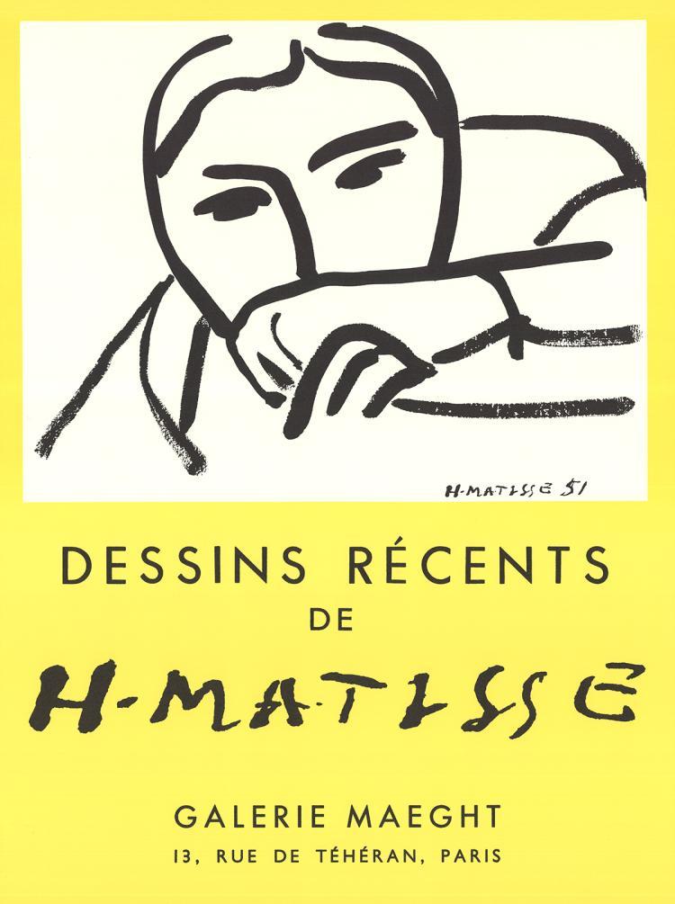 Henri Matisse - Dessins Recents