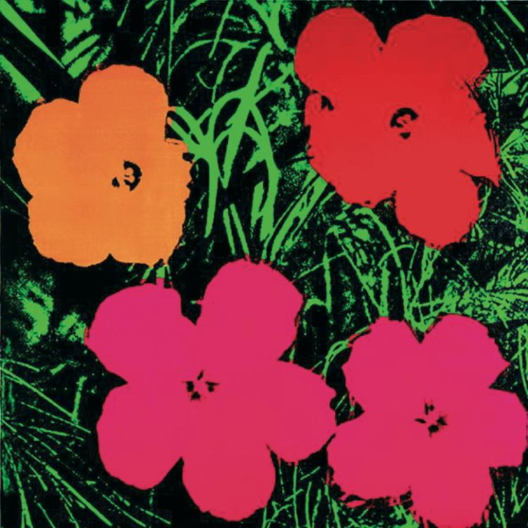 Andy Warhol - Flowers (sm) - 2000