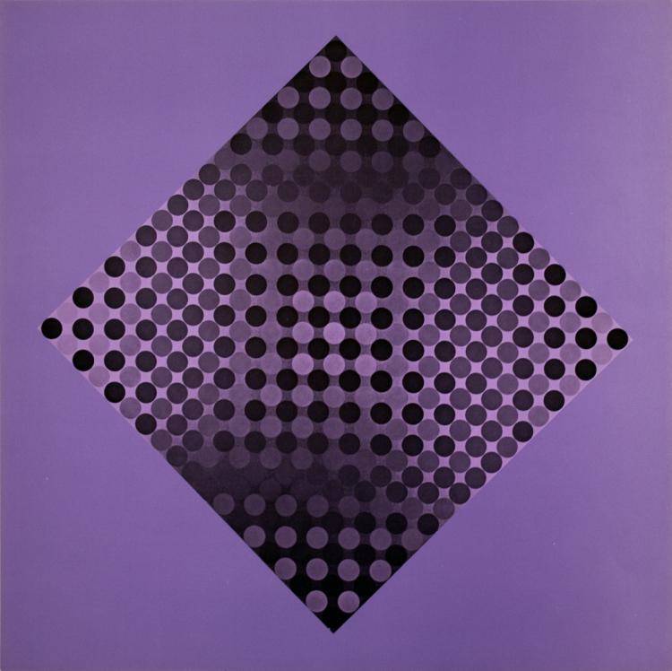 Victor Vasarely - CTA-102 I - 1973