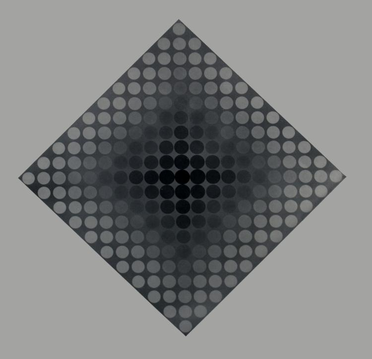 Victor Vasarely - CTA-102 IV - 1973