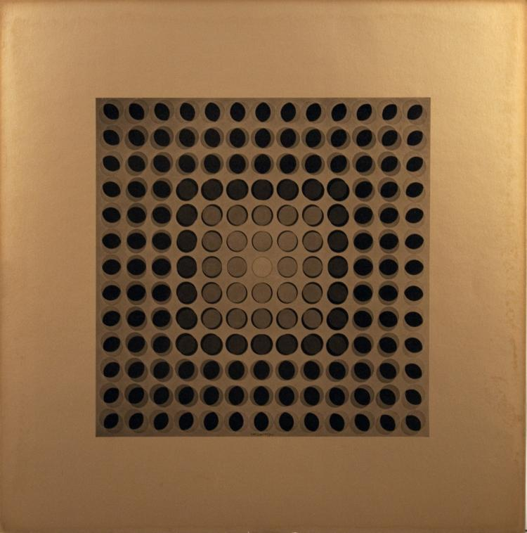 Victor Vasarely - Untitled I - 1973