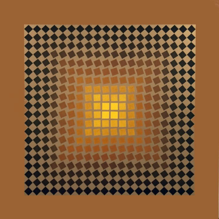 Victor Vasarely - Untitled II - 1973