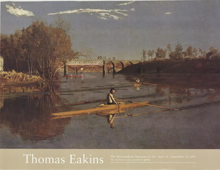 Thomas Eakins - The Champion Single Sculls (Max Schmitt in a Single Skull) - 2002