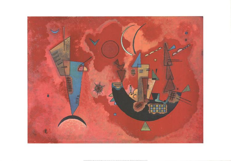 Wassily Kandinsky - With and Against - 1994