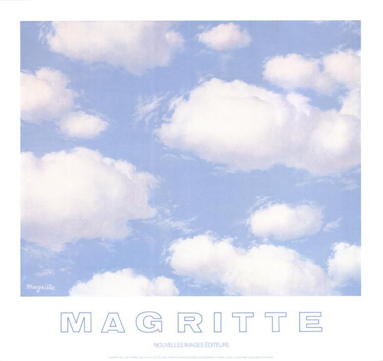 Rene Magritte - Sky - 1984