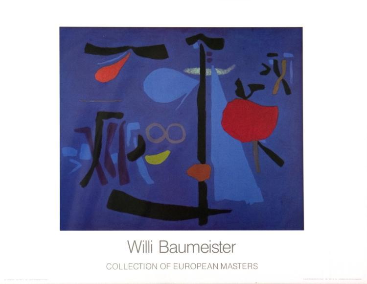 Willi Baumeister - Nocturno III