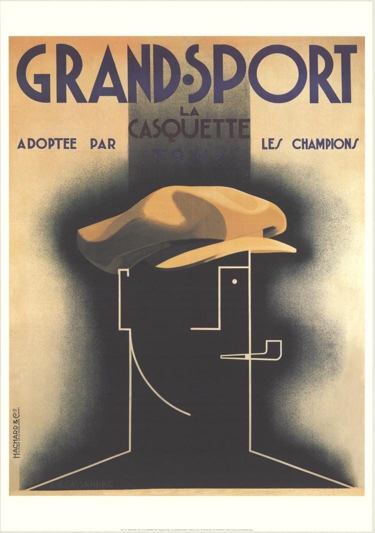 A.M. Cassandre - Grand Sport - 1998