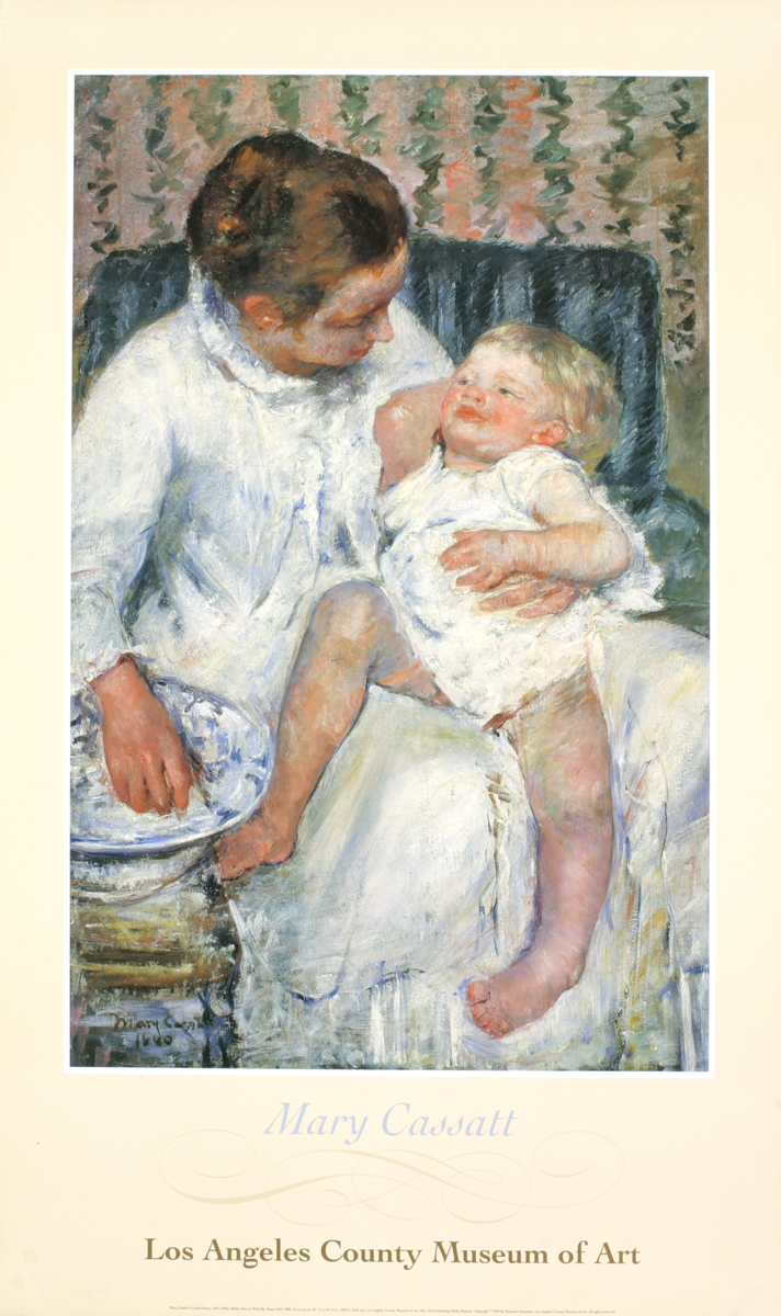 Mary Cassatt - Mother about to Wash her Sleepy Child - 1994