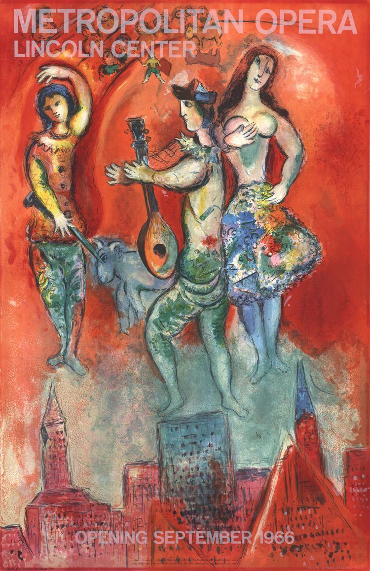 Marc Chagall - Carmen - 1966