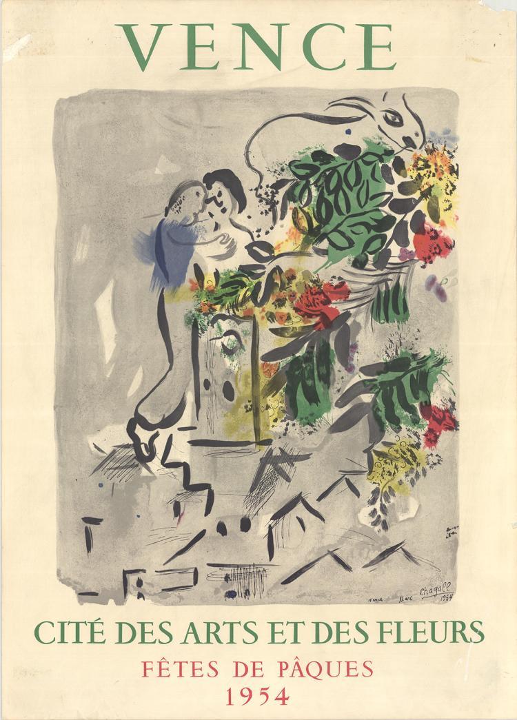 Marc Chagall - Vence-Fetes De Paques