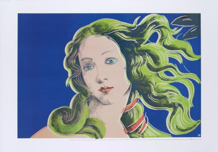 Andy Warhol - Birth of Venus-Purple - 1999