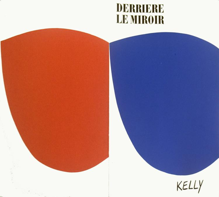 Ellsworth Kelly - Derriere le Miroir no.110 Cover - 1958