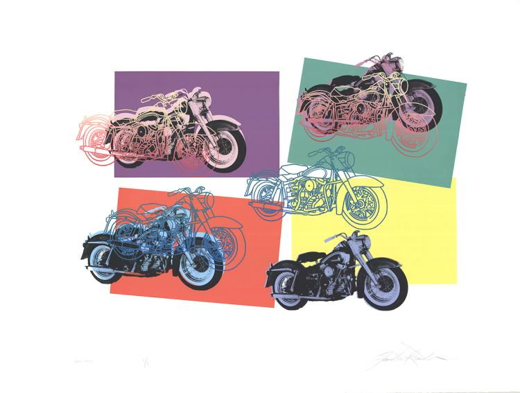 Friedbert Renbaum - Harley x 6 - 1994 - SIGNED