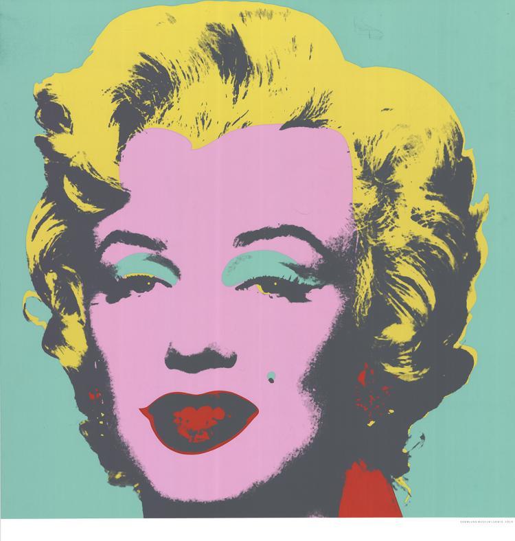 Andy Warhol - Marilyn (Green) - 1989