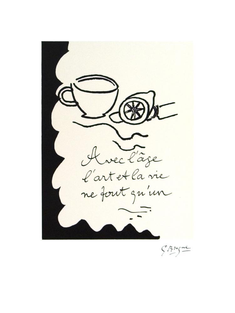 Georges Braque - Avec L'age