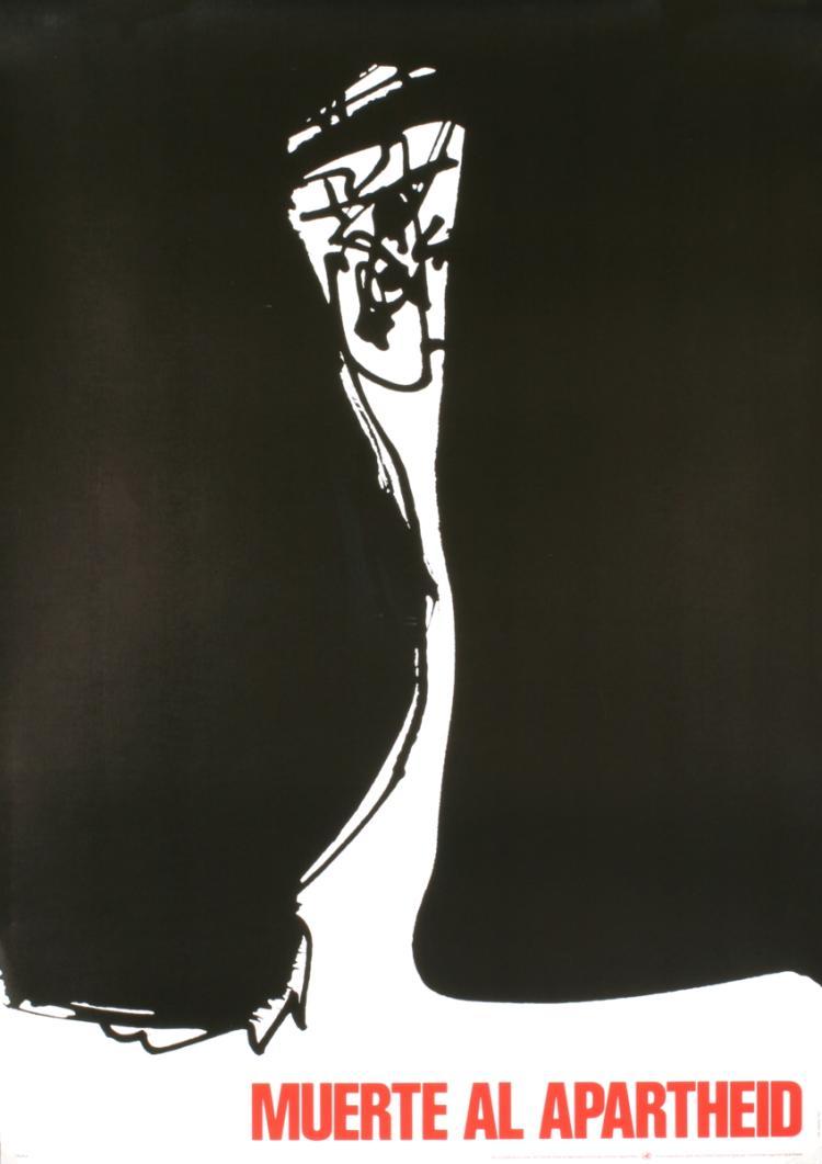 Antonio Saura - Muerta Al Apartheid