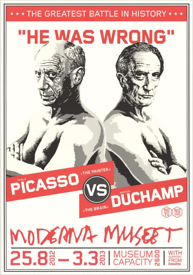 Picasso vs. Duchamp - 2012
